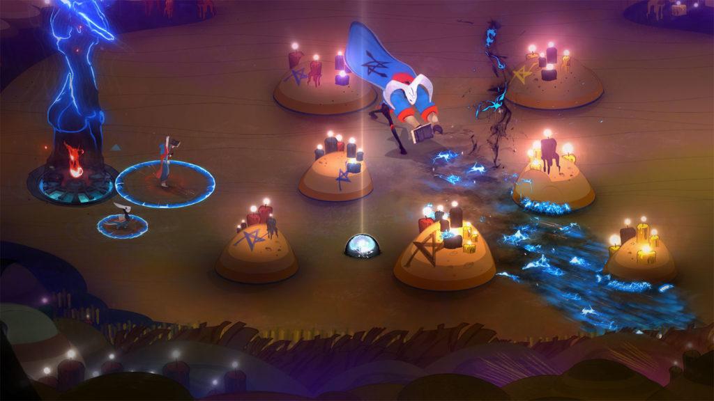 Pyre Battle Design