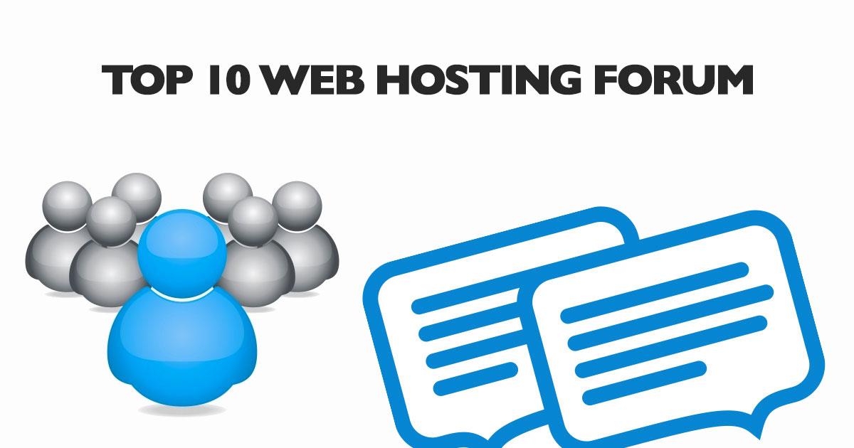 Web Hosting Forum